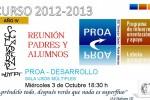 Reunió inicial famílies curs 2012-13
