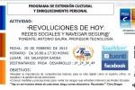 Revolucions de hui: xarxes socials i navegació segura.