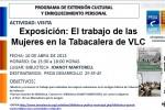 Visita exposició: 'El treball de les dones a la tabacalera de València'
